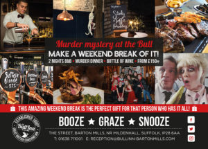 Murder Mystery Dinners & Weekends in Suffolk PROMOTIONAL PHOTOS