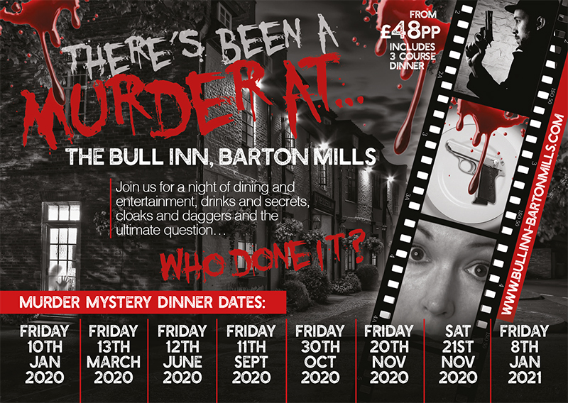 Murder Mystery Dinners & Weekends in Suffolk DATES FOR 2020