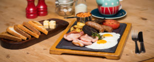 Breakfast at The Bull Inn