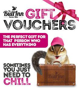 Gift Vouchers at The Bull Inn Hotel & Pub
