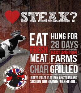 Steak at The Bull Inn