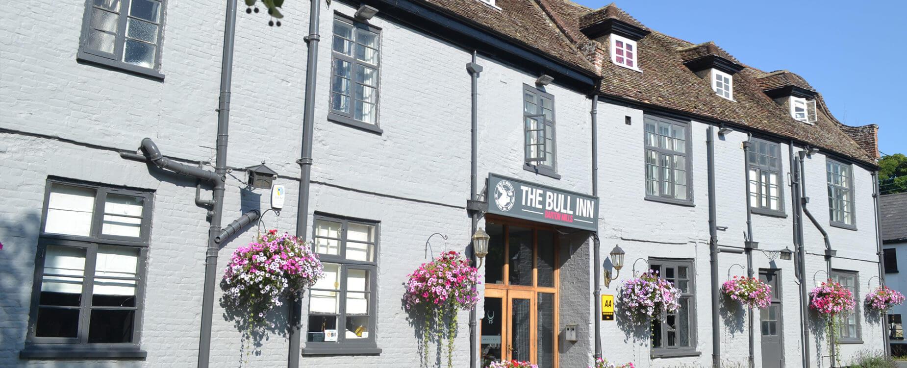 The Bull Inn, Barton Mills Suffolk   Boutique Hotel & Restaurant