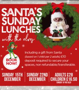 Santas Festive Lunches