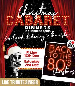 Back to the 80's - Cabaret Dinner