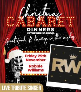 Robbie Williams - Cabaret Dinner