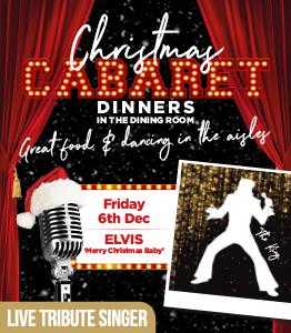 Elvis is back in the building - Cabaret Dinner