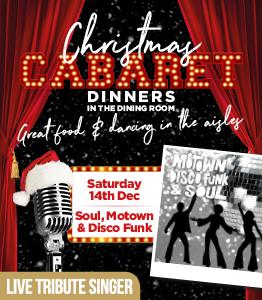 Soul, Motown & Disco Funk - Cabaret Dinner