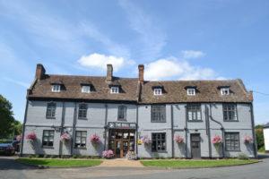 The Bull Inn at Barton Mills Exterior
